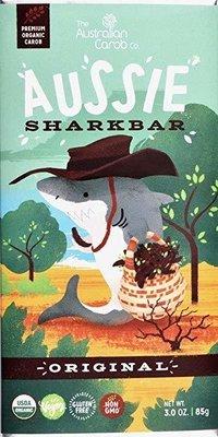 ORGANIC CAROB AUSSIE SHARKBAR: ORIGINAL!