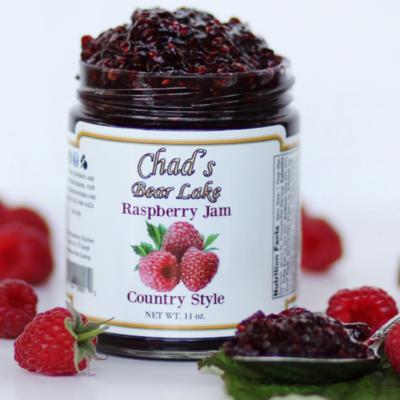 Raspberry Country Style Jam -11 oz