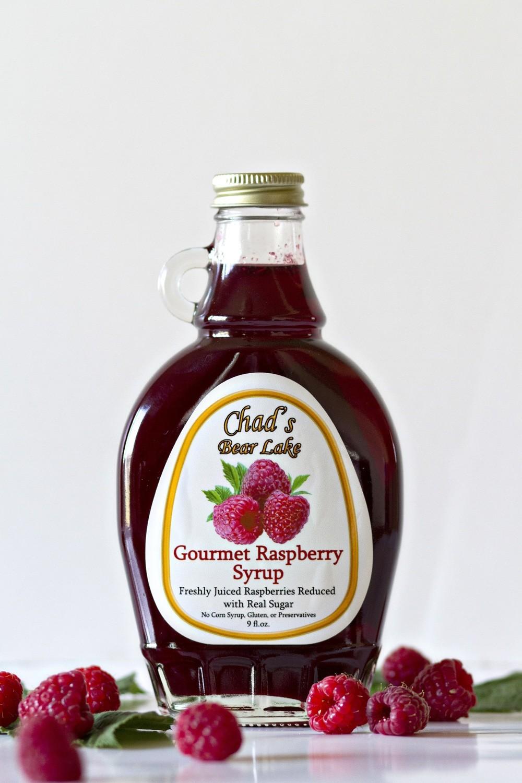 Gourmet Raspberry Syrup- 9 fl oz