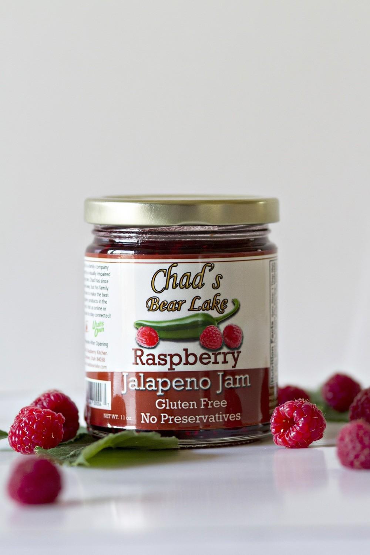 Raspberry Jalapeno Jam- 11 oz.