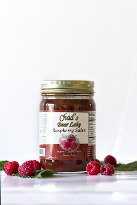 Warm & Sweet Raspberry Salsa- 14 oz.
