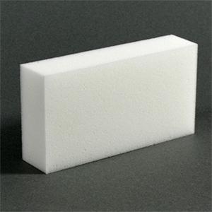 Меламиновая губка 10х6х2 см (100 штук в пачке)