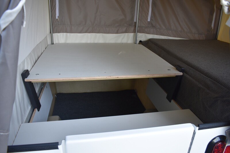 Table Stands for Mini Mate Camper