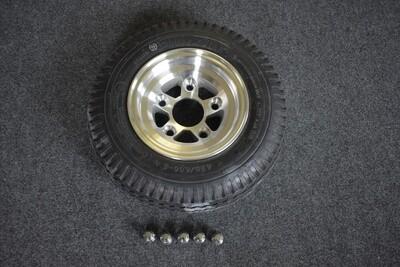 "4.80 X 8"" Aluminum Alloy Tire & Wheel"