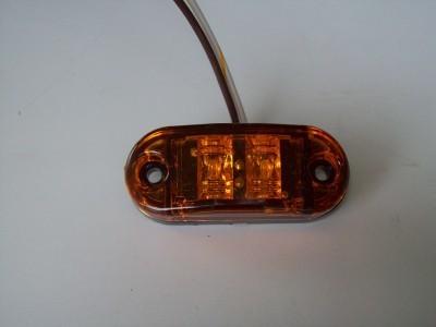 Oval Amber Marker Light