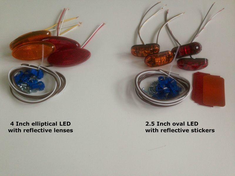 Side Marker Light Kits