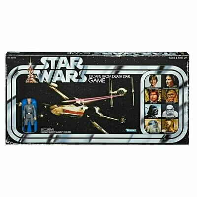 Star Wars - Retro Collection - Escape from Death Star Board Game with Grand Moff Tarkin