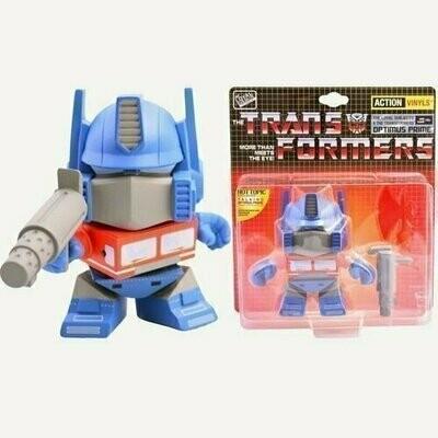 Transformers - 5.5'' Optimus Prime - Action Vinyls Collectible Figure