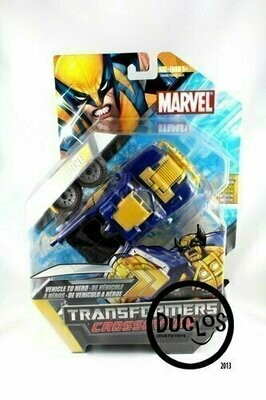 Marvel Transformers Crossovers - Rally Truck to Wolverine