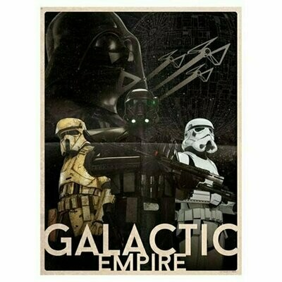 Star Wars - Galactic Empire by Louis Solis Lithograph Art Print