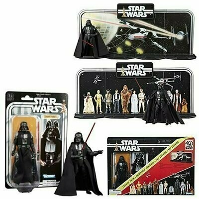 Star Wars - 40th Anniversary 6-Inch Figure - Display Diorama with Darth Vader