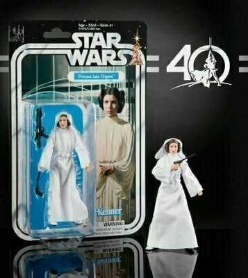 Star Wars - 40th Anniversary 6-Inch Figure - Episode 4 Princess Leia Organa