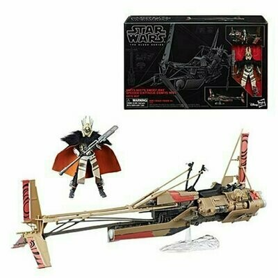 Star Wars - The Black Series 6'' Action Figure - Enfys Nest's Swoop Bike