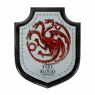 Game Of Thrones - Targaryen Dragon House Crest Wall Plaque