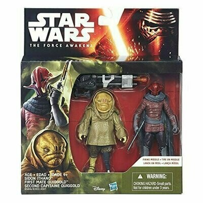 Star Wars - The Force Awakens - Sidon Ithano & First Mate Quiggold (2-Packs)
