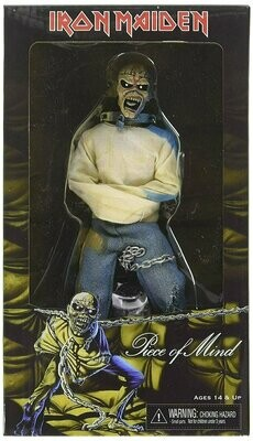 """Neca - Iron Maiden - 8"""" Clothed Action Figure - Piece Of Mind"""
