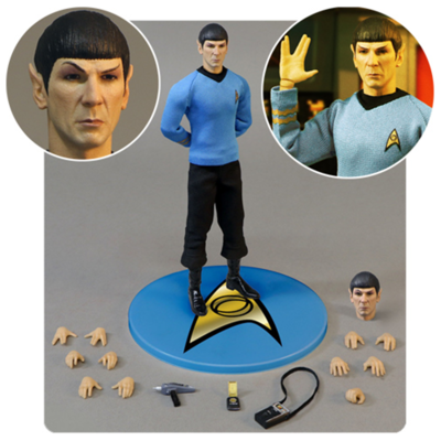 Mezco Toyz - Star Trek - Spock 1:12 Collective Action Figure