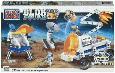 Mega Bloks - Bloks Squad - 2445 Astro Exploration (335 PCS)