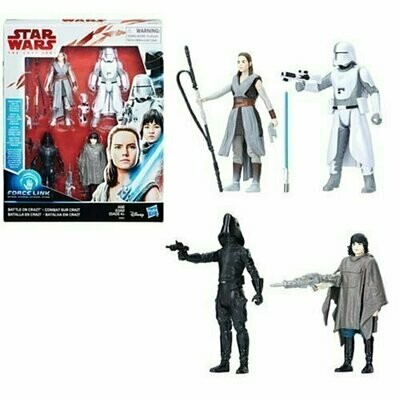 Star Wars - The Last Jedi - Battle on Crait (4-Pack)