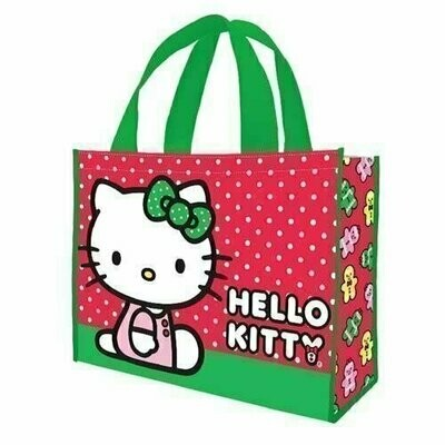 Hello Kitty Holiday Large Recycled Shopper Tote