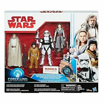 Star Wars - The Last Jedi - Force Link (Kohl's Exclusive 4-Pack)