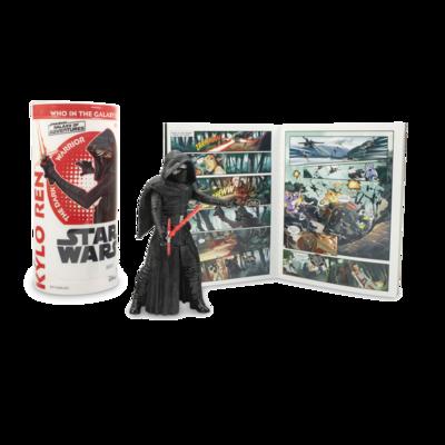 Star Wars - Galaxy Of Adventures W3 - Kylo Ren with Mini Comic