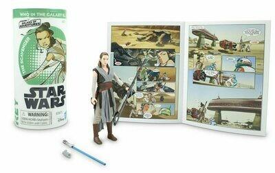 Star Wars - Galaxy Of Adventures W3 - Rey with Mini Comic