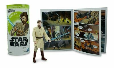Star Wars - Galaxy Of Adventures W3 - Obi-Wan Kenobi with Mini Comic