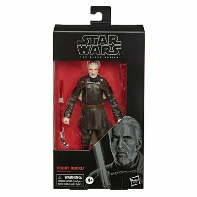 PREORDER 2020-10 Star Wars - The Black Series 6'' #107 - Count Dooku
