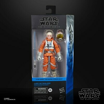 PREORDER 2020-10 Star Wars - The Black Series 6-Inch - Luke Skywalker (Snowspeeder)