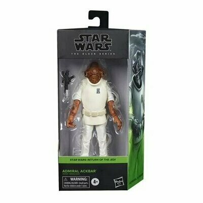 PREORDER 2020-10 Star Wars - The Black Series 6-Inch - Admiral Ackbar