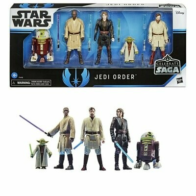 PREORDER 2020-10 Star Wars - Celebrate The Saga - Jedi Order Action Figure Set