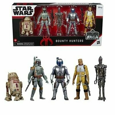 PREORDER 2020-10 Star Wars - Celebrate The Saga - Bounty Hunters Action Figure Set