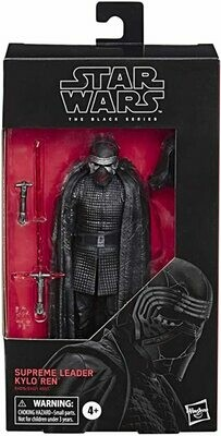 PREORDER 2020-10 Star Wars - The Black Series 6'' - Supreme Leader Kylo Ren