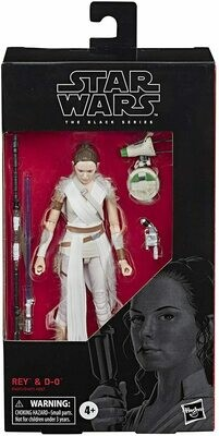 PREORDER 2020-10 Star Wars - The Black Series 6'' - Rey and D-O