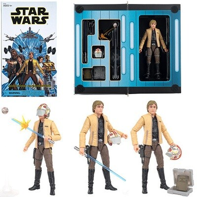 Star Wars - The Black Series 6'' - Luke Skywalker (Skywalker Strikes) Convention Exclusive