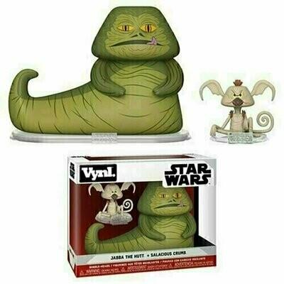 Funko VYNL - Star Wars - Jabba The Hutt & Salacious Crumb
