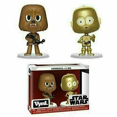 Funko VYNL - Star Wars - Chewbacca & C-3PO