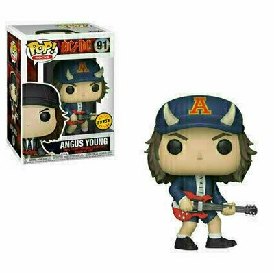 Pop ! Rocks 91 - AC/DC - Angus Young (ACDC) (Chase)