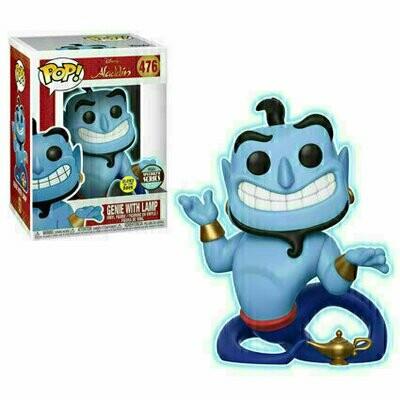Pop ! Disney 476 - Aladdin - Genie with Lamp (Glow) (Specialty Series)