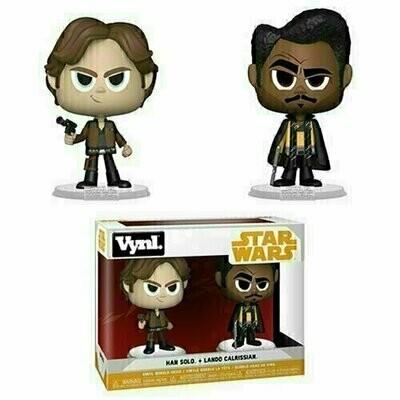 Funko VYNL - Star Wars - Han Solo and Lando Calrissian 2-Pack