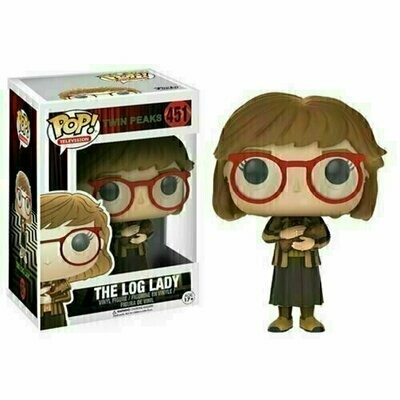 Pop ! Television 451- Twin Peaks - The Log Lady