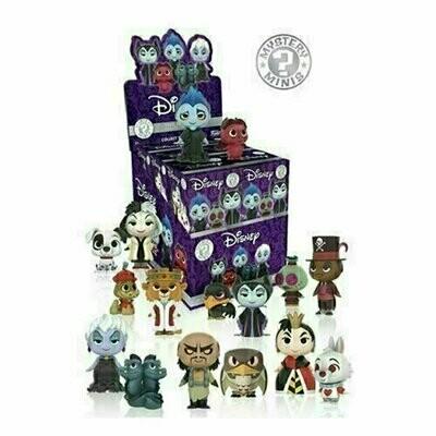 Funko - Mystery Minis - Disney Villains (1 Randomly Picked)