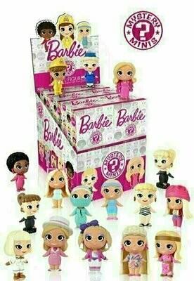 Funko - Mystery Minis - Barbie (1 Randomly Picked)