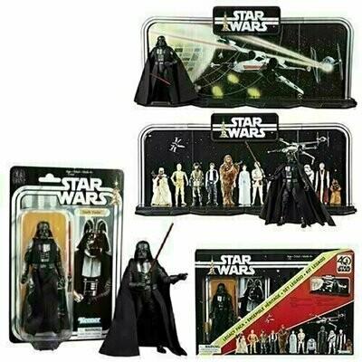Star Wars - 40th Anniversary 6-Inch Figure - Display Diorama with Darth Vader