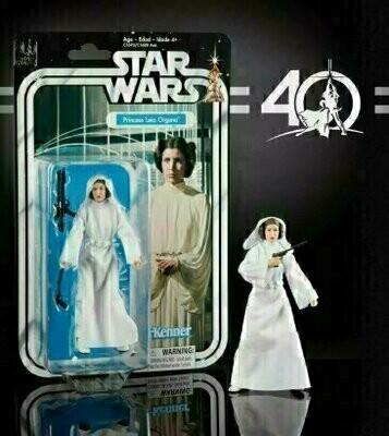 Star Wars - 40th Anniversary 6-Inch Figure - Episode 4 Princess Leia Organa