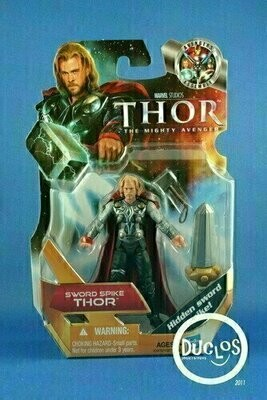 Thor Movie Basic Action Figures - 02 Thor (Sword Spike)