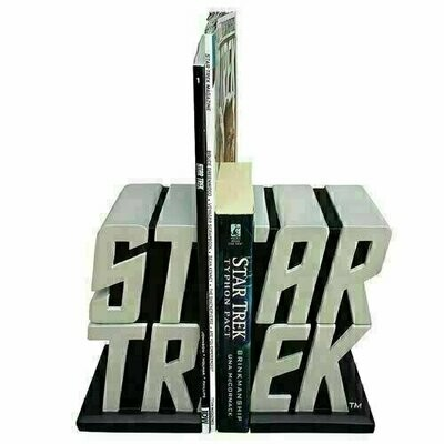 Star Trek - Logo Bookend Statues