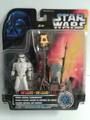 Star Wars - POTF2 - Crowd Control Stormtrooper (Deluxe)