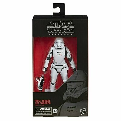 Star Wars - The Black Series 6-Inch W2 - First Order Jet Trooper